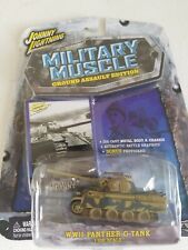 Johnny Lightning Military Muscle 1:100 Scale WWII GERMAN PANTHER G TANK NEW NIB