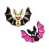 Wedding Bridal Enamel Animal Bat Brooch Pin Collar Decor Badge Corsage Jewe JR