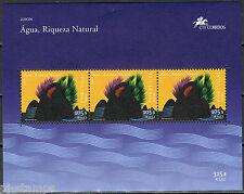 2001 Azoren blok 21 Europa CEPT - Water: Bron van leven