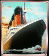 TITANIC (SHIP) ~ Counted Cross Stitch KIT #K982