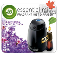 Air Wick Essential Mist Fragrance Oil Diffuser Kit, Lavender & Almond Blossom...
