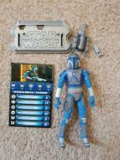 "Star Wars The Clone Wars: Mandalorian Warrior Figure 3.75"""