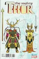 MIGHTY THOR #2 MARVEL COMICS  DAUTERMAN 1:20 DESIGN VARIANT COVER F 1ST PRINT
