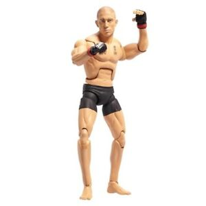 UFC George St-Pierre Action Figure '' RUSH '' GSP JAKKS PACIFIC Toy