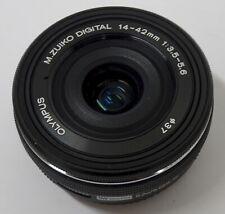 MFT Pancake-Objektiv Olympus M.ZUIKO DIGITAL 14-42mm F3.5-5.6 EZ schwarz