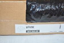 IKEA KIVIK Loveseat Cover 2 seat Sofa Teno BLACK Slipcover 302.263.09 NEW