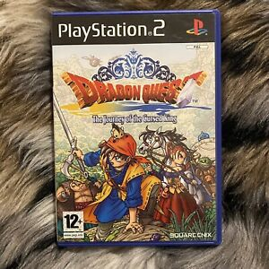 Dragon Quest VIII 8: The Journey of the Cursed King - PlayStation 2 PS2 - PAL