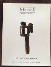 catalogue de vente ART & ETHNOGRAPHIE D'AFRIQUE coll. d'un amateur Massol 2009