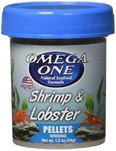 Omega One Shrimp and Lobster Pellets 1.2 oz