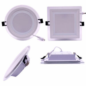 1/10x Dimmable 6W 9W 12W 18W LED Recessed Ceiling Panel Down Spot Light + Driver