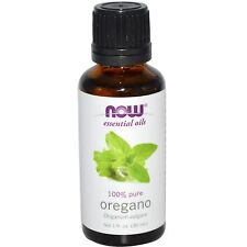 Oregano (100% Pure), 1 oz - NOW Foods Essential Oils