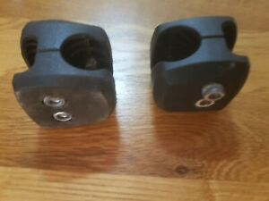 Invacare Brake Fitting Block Action Etc  These have lugs to stop it turning