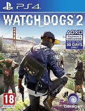 Watch Dogs 2 (PS4) - SUPER MINT - Extremely FAST & QUICK Delivery FREE