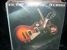 MIKE BERRY i'm a rocker ( rock ) sticker - WHITE LABEL PROMO -