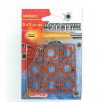 Paquet de 72 Amorces 1 Paquets de 9 Disque 9x8 Coups Pour Pistolet