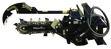 """Trencher 36"""" Boom w/6"""" Combo Chain Skid Steer Loader Attachment Bobcat/JD/Gehl"""