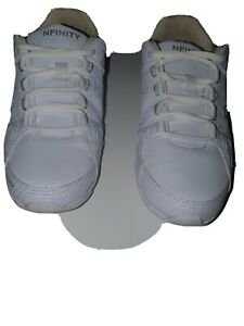 Infinity Cheer Shoes Size 5 White