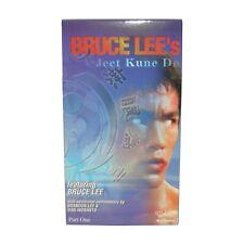 Bruce Lee Jun Fan Jeet Kune Do Training #1 Video Vhs Dan Inosanto Brandon Lee
