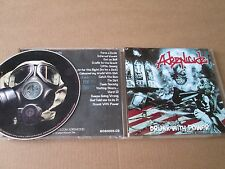 Adrenicide – Drunk With Power CD VERY RARE DIY SELF ISSUED EX CONDITION TRASH
