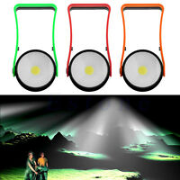 1PC COB LED Camping Lamp Emergency Work Tent Light Lamp Torch With Magnet & Hook