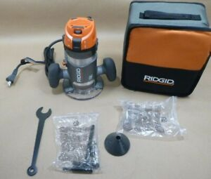 """RIDGID R22002 ROUTER 11 AMP 2HP 1/2"""" CORDED BASE ROUTER"""