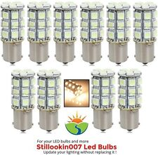 10 x Low voltage landscape light bulb 1141, 1156, 27SMD bulb in Warm White