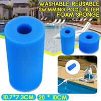 Reusable Swimming Pool SPA Hot Tub Foam Filter Cartridges Cleaner Replacement
