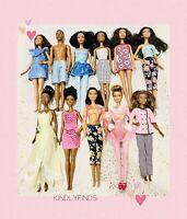 Barbie Lot! 11 African American Fashion Doll W/ Made To Move & Ken, Tiana & More