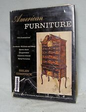 (#0846)  American Furniture by Helen Comstock (covers 1640 to 1780)