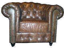 Klassische Sessel aus Kunstleder