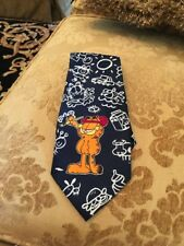 Vintage Garfield Tie Cartoon 1978  United Feature Syndicate Inc  Men's Neck Tie