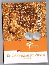 €5 MUNT ZILVER PROOF 2004 KONINKRIJKSMUNT  BLISTER