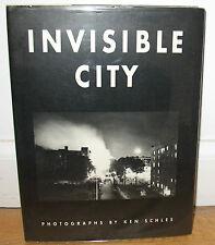 Ken Schles Invisible City Gravure Limited Ed 2000 Copies Urban Life HC DJ