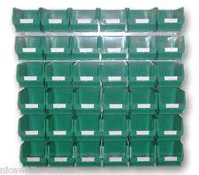 PLASTIC STORAGE BINS SET LINBINS BIG GREEN        BK24