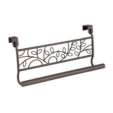 OVER THE Cabinet Towel Bar Holder TWIGZ Interdesign  Bronze 98881