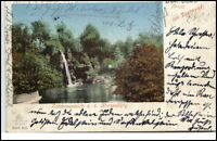 Dortmund Nordrhein-Westfalen Postkarte 1900 Schwanenteich an der Kronenburg