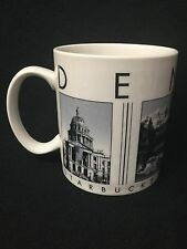 STARBUCKS Barista City Scenes Series Denver Ceramic Cup Mug 18 fl oz 2003 NWOT