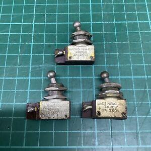 Vintage 1960's Arrow Toggle Switch - 1 Piece