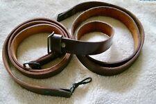 Vintage Soviet Block Romainian Leather AK Sling W/ Buckles