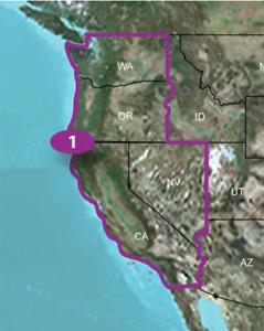Garmin TOPO U.S. 24K WEST Maps GPS MicroSD Data Card USA Topographic Region