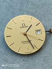 Vintage Omega Seamaster 1430 quartz movement with dial . Working good