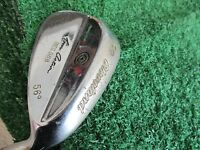 """Cleveland 588 Chrome 56* SW sand wedge W/dynamic gold steel wedge 35"""" right hand"""