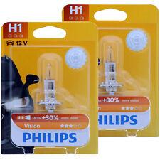 H1 PHILIPS Vision - Mehr Licht - 12258PRB1 Scheinwerfer Lampe DUO-Box NEU