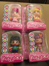 Pinypon Full set Series 6 collectable figures x4 Interchangeable New Series