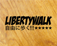 LB WORKS LB ★ PERFORMANCE XXL Aufkleber Sticker Liberty Walk Decal Tuning Auto