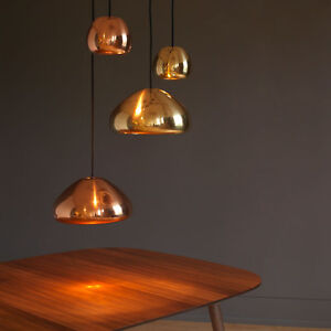 Modern Retro Vintage Void Replica Reflective Ceiling Pendant Light Lamp Shade