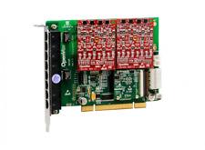 New OpenVox AE810P02 + 8 FXO + EC PCI VoIP PBX Asterisk FreePBX Elastix Trixbox