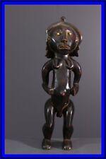 STATUETTE CHOKWE AFRICAN TRIBAL ART AFRICAIN ARTE AFRICANA AFRIKANISCHE KUNST **