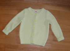 GYMBOREE PLAY IT BY HEART NEON YELLOW CARDIGAN SWEATER GIRLS 5 6 WINTER