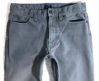 J. Crew Gray Sutton Straight Cotton Denim Mens Jeans size 30 x 30